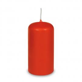 Svíčka válcová Ø 60 x 120 mm - červená