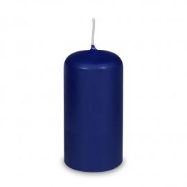 Svíčka válcová Ø 60 x 120 mm - tmavě modrá