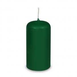 Svíčka válcová Ø 60 x 120 mm - tmavě zelená