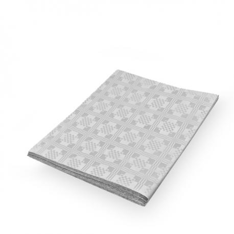 Papírový ubrus skládaný (PAP) 1,80  x 1,20 m  - bílý