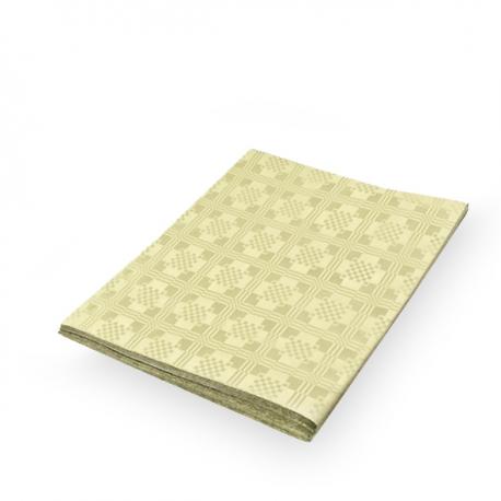 Papírový ubrus skládaný (PAP) 1,80  x 1,20 m  - béžový
