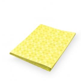 Papírový ubrus skládaný (PAP) 1,80  x 1,20 m  - žlutý