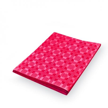 Papírový ubrus skládaný (PAP) 1,80  x 1,20 m  - červený