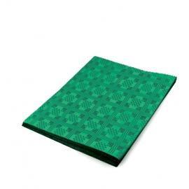 Papírový ubrus skládaný (PAP) 1,80  x 1,20 m  -   tmavě zelený