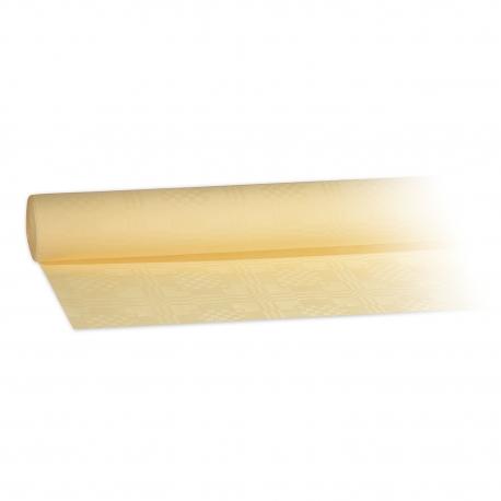 Papírový ubrus rolovaný (PAP)   8 x 1,20 m -  bežový