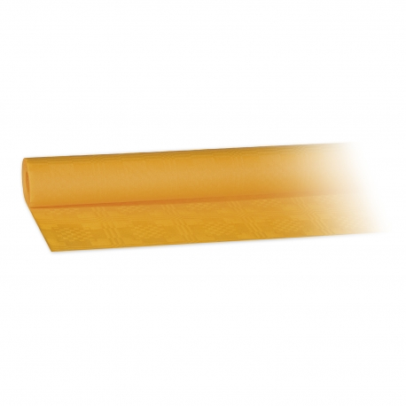 Papírový ubrus rolovaný (PAP)   8 x 1,20 m -  žlutý