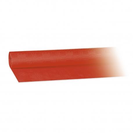 Papírový ubrus rolovaný (PAP)   8 x 1,20 m -  červený