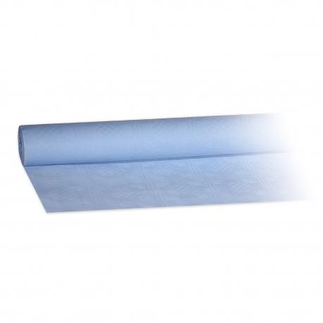 Papírový ubrus rolovaný (PAP)   8 x 1,20 m -  světle modrý
