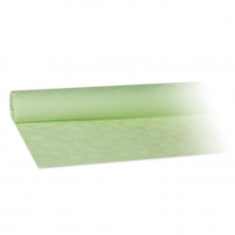 Papírový ubrus rolovaný (PAP)   8 x 1,20 m - žlutozelený