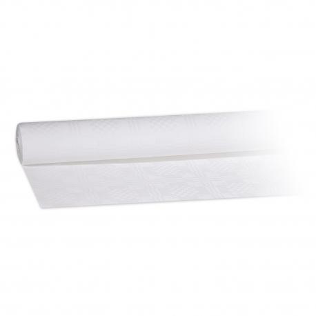 Papírový ubrus rolovaný (PAP)  50 x 0,80 m - bílý
