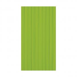 Stolová sukýnka PREMIUM (AIRLAID)  4 m x 72 cm -  žlutozelená