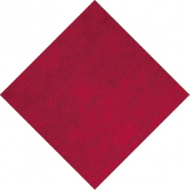 Napron PREMIUM (AIRLAID)  80 x 80 cm -  bordový