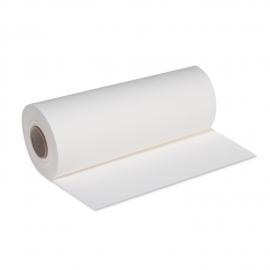 Středový pás PREMIUM rolovaný (AIRLAID)   24 m x 40 cm  -  bílý