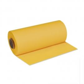 Středový pás PREMIUM rolovaný (AIRLAID)   24 m x 40 cm  - žlutý