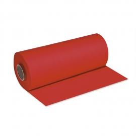 Středový pás PREMIUM rolovaný (AIRLAID)   24 m x 40 cm  - červený