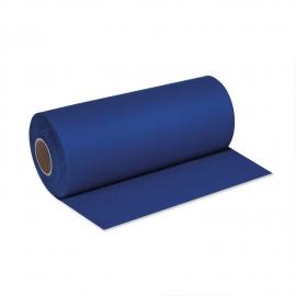 Středový pás PREMIUM rolovaný (AIRLAID)   24 m x 40 cm  - tmavě modrý