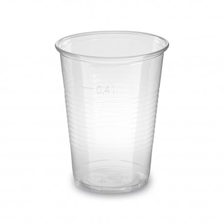 Kelímek průhledný 0,4 l  (PP)  Ø 95 mm