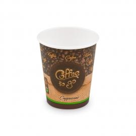 """Papírový kelímek ,,Coffee to go"""" - 200 ml - Ø 73 mm - S"""