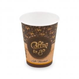 """Papírový kelímek ,,Coffee to go"""" - 330 ml - Ø 80 mm - L"""
