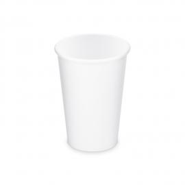Papírový kelímek, bílý - L - 330 ml  (PAP) Ø 80 mm