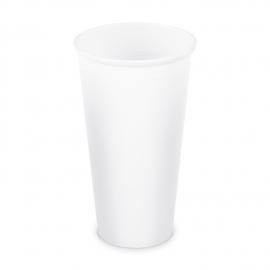 Papírový kelímek, bílý - XXL - 610 ml  (PAP)  Ø 90 mm