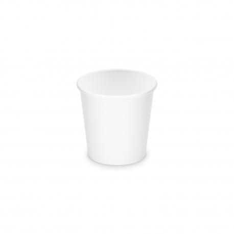 Papírový kelímek, bílý - M - 280 ml  (PAP)  Ø 80 mm