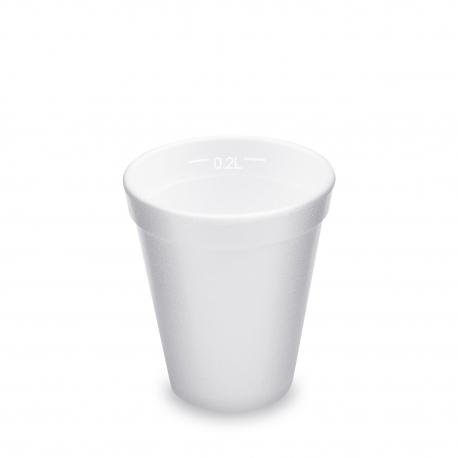 Termo-kelímek 225 ml  (EPS)  0,2 l  Ø 80 mm