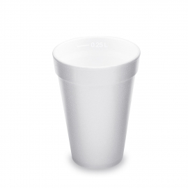 Termo-kelímek 280 ml  (EPS)  0,25 l  Ø 85 mm