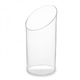 Fingerfood kelímek kulatý, čirý 65 ml (PS)  Ø 4,5 x 8,4 cm