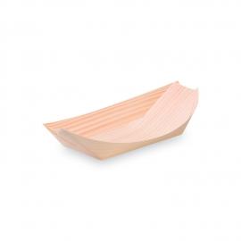 Fingerfood miska dřevěná, lodička 16,5 x 8,5 cm