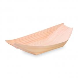 Fingerfood miska dřevěná, lodička  21,5 x 11 cm