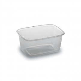 Miska hranatá průhledná 250 ml  (PP)