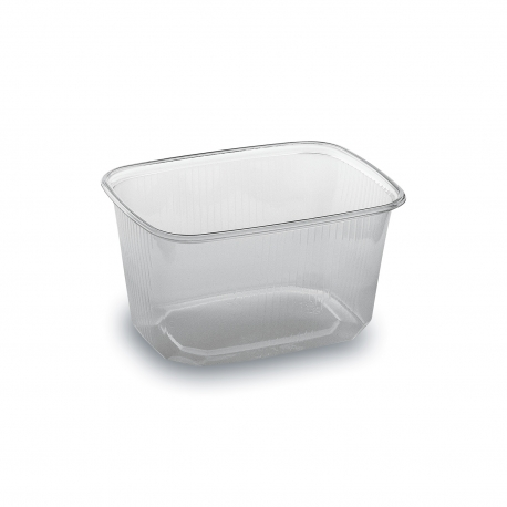 Miska hranatá průhledná 300 ml  (PP)