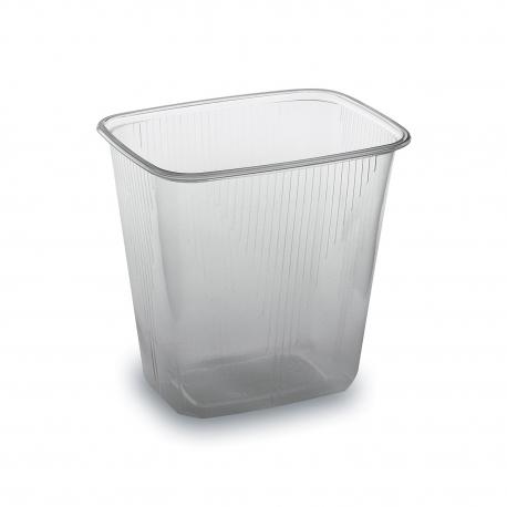 Miska hranatá průhledná 500 ml  (PP)