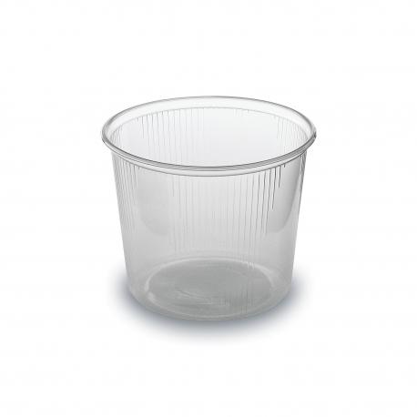 Miska kulatá průhledná 400 ml  (PP)