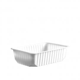 Vanička hranatá bílá 750 ml  (PP)