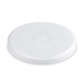 Termo-víčko pro misky kulaté (EPS)  pro/pre misky 340 - 680 ml