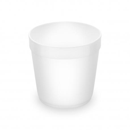 Termo-miska kulatá bílá 680 ml (EPS)