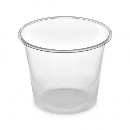 Dresinková miska průhledná 125 ml  (PP)