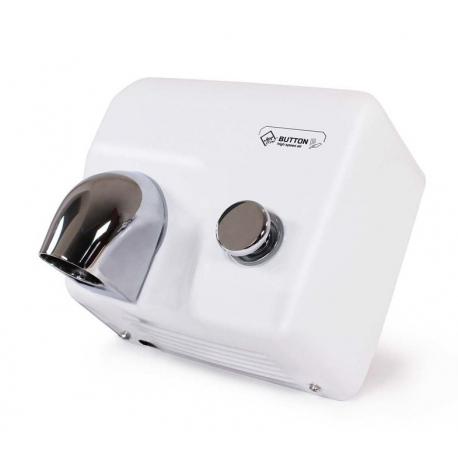 Jet Dryer BUTTON - kovový bílý