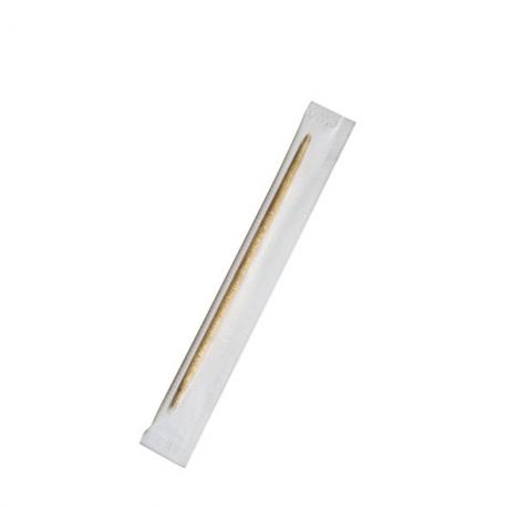 Dřevěná párátka hyg. balená v celofánu  65mm
