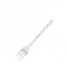 Vidlička pevná, průhledná  (PS)  17,5 cm