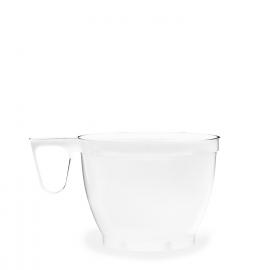 Šálek bílý s ouškem   (PS)  0,18 l